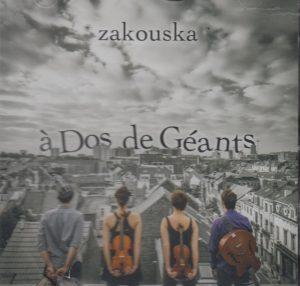 Zakouska - A Dos de Géants